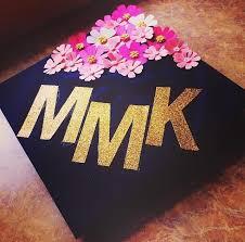 monogram graduation cap 12 creative ways to decorate your grad cap wearable