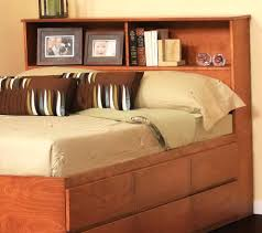 bookcase king size bookcase headboards for living decoration