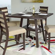 square dining room set artefama furniture flora 79 in cinnamon square legs dining table