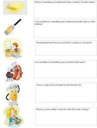 all worksheets cooking worksheets free printable worksheets