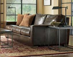 Oversized Leather Sofa Napa Maxwell Oversized Seating Leather Sofa Set