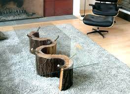 how to make a tree stump table tree trunk furniture coffee table tree trunk unique image design to