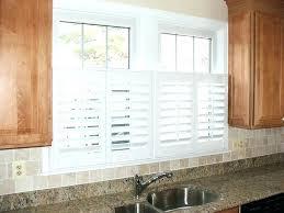 kitchen window shutters interior awesome half window plantation shutters ideas window plantation
