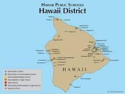 map of hawaii island hawaii doe hawaii island map