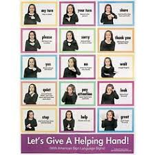 thanksgiving sign language sign wall