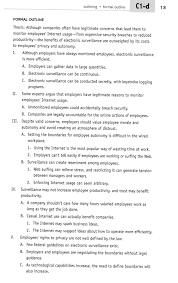 term paper apa outline