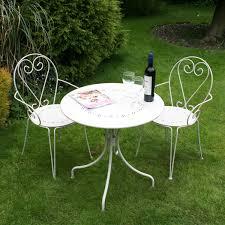 bentley cream bentley garden bistro sets outdoor cream u0026 grey