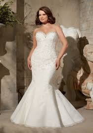 appliques on net with crystals wedding dress style 3174 morilee