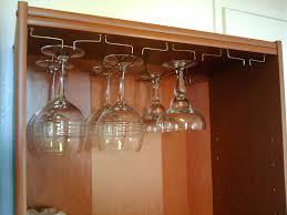 free hanging glass rack 4 steps