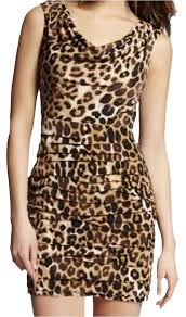 express new years dresses express animal print leopard print year party clubbing draped