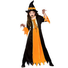 deluxe girls wicked witch with hat oz halloween fairytale fancy