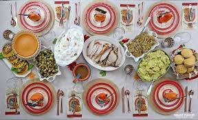 thanksgiving meal plan for 50