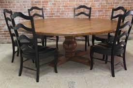 round farmhouse dining table and chairs round farmhouse kitchen table sets and 2018 charming dining tables