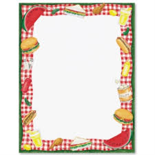 letter paper border paper theme paper printable stationery