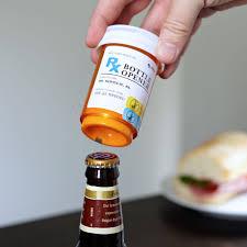 unique bottle opener orders prescription bottle opener