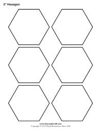 free hexagon template english pp quilt making pinterest