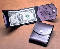 alumni wallet cabrio money clip wallet black plum horween cavalier
