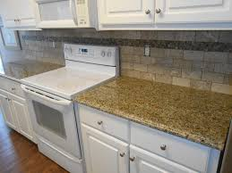 new venetian gold granite counter tops ogee edge 3x6 walnut