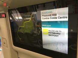 Dublin Pleasanton Bart Map by Bart Shows Off New Train Cars At First Of Four Open House Events