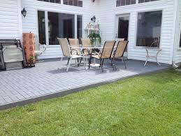 patio ideas with pavers exterior design pretty roof top patio with stone flooring with