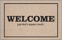 Funny Doormat Sayings Everyday Humorous Welcome Mats U0026 Funny Doormats