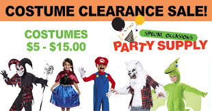 Halloween Costumes Clearance Costume Clearance Sale