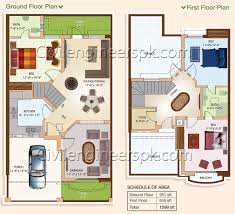 5 marla house layout plans design homes
