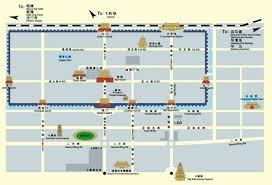 map of xi an xian maps map of xian china xian tourist maps xian city map