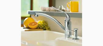 kohler coralais kitchen faucet coralais decorator kitchen sink faucet with lever handle k 15075