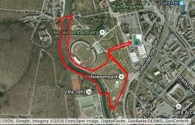 Google De Maps Streckeninformationen Geraer Höhlerfestlauf