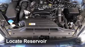 hyundai genesis coupe 2 0t premium check windshield washer fluid hyundai genesis coupe 2013 2016