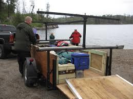 bwca building a canoe trailer boundary waters gear forum