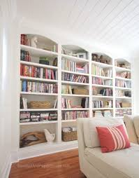 White Girls Bookcase by Home Sweet Home On A Budget Built Ins Sawdust Library