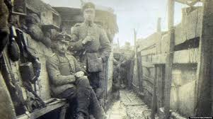 heartwarming letter from the trenches details wwi christmas truce