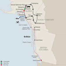 Alaska Pipeline Map by Alaska Cruise Tours U0026 Canada Guided Tour Globus