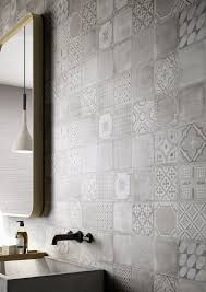 Kitchen Wall Tile Designs Materika Satin Concrete Effect Wall Tiles Marazzi