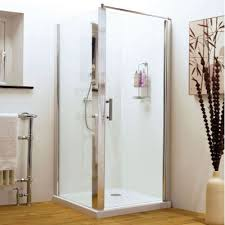 premier pacific square shower enclosure 700mm x 700mm hinged