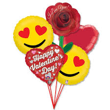 helium balloon delivery nyc valentines day balloons bouquet emoji hearts balloon shop nyc