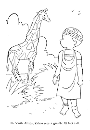 africa coloring pages snapsite me