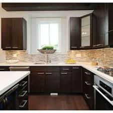 kitchen cabinets backsplash ideas medium brown cabinets with white quartz countertop search