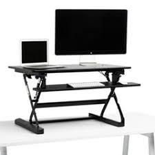 Office Desk Risers Adjustable Height Desk Risers Modern Office Furniture Poppin