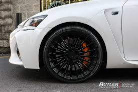 lexus gs f white lexus gs f with 20in tsw turbina wheels exclusively from butler