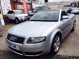 audi a4 cabriolet 1 8 t sport petrol manual 2003 air con 2 owner