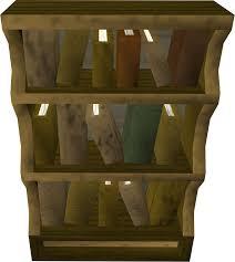 Crude Wooden Chair 2007 Wooden Bookcase Runescape Wiki Fandom Powered By Wikia