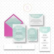 watercolor wedding invitation sample wedding invitations