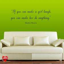 wall stickers you can write on color the walls of your house marilyn monroe quote wall art
