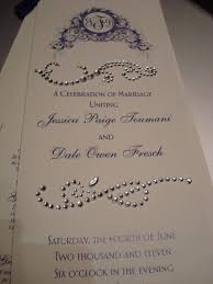 bling wedding programs 41 best save tbe date images on marriage invitations