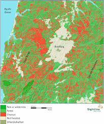 Roseburg Oregon Map by Map Of Clearcutting In Southern Oregon Sightline Institute