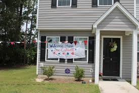 Welcome Home Decorations Meg Joins The Navy Deployment Homecoming Decorations How To Make