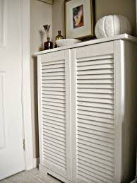 Louvered Cabinet Door Designing Home What To Do With Louvered Doors Louvered Cabinet